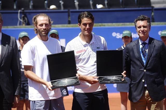 Final de dobles en el Barcelona Open Banc Sabadell