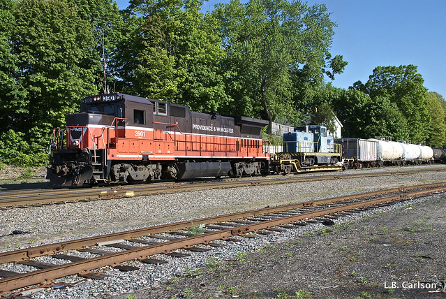 Valley Railroad's 80-Tonner in Plainfield, CT