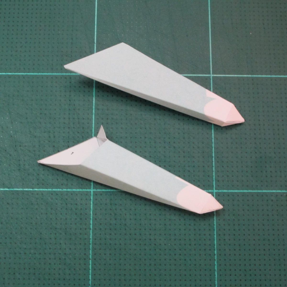 วิธีทำโมเดลกระดาษคุกกี้รันจิ้งจอกเก้าหางในร่างหมาจิ้งจอก (Cookie Run Ninetails Fox Form Papercraft Model) 002