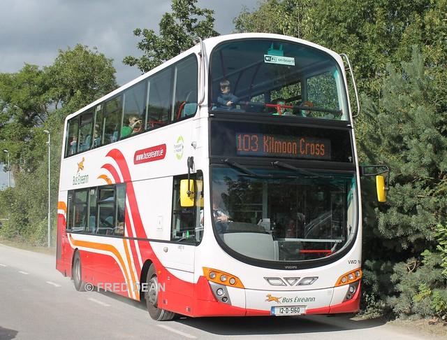 Bus Eireann VWD16 (12D5160).