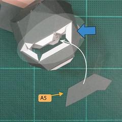 วิธีทำของเล่นโมเดลกระดาษซุปเปอร์แมน (Chibi Superman  Papercraft Model) 017