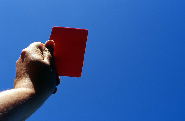 Day 190/365 - Red Card