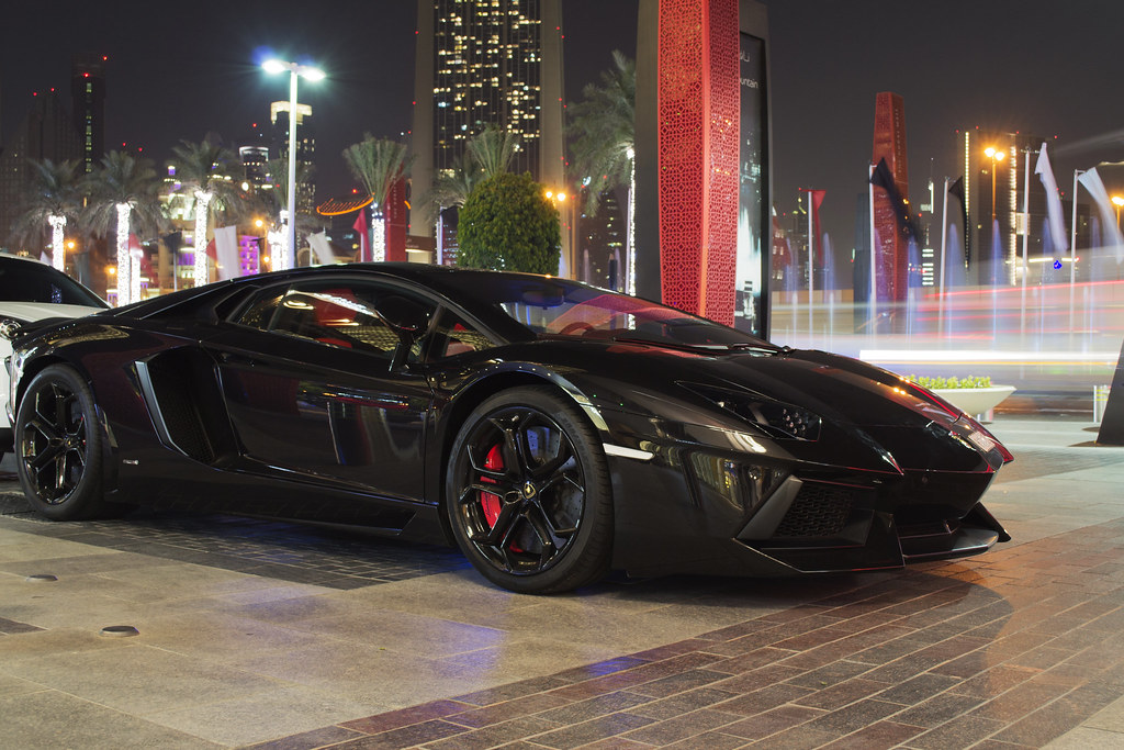 Blacked Out Aventador Sg Automotive Photography Flickr