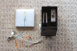 PirateBox Power/Router Inside the Enclosure | by cogdogblog