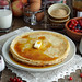 Pancakes with maple syrup by Mirage Gourmand