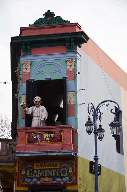 Papa Francisco en Caminito