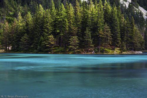 lake water beautiful forest austria amazing colorful bank greenlake styria grünersee skyfreezer