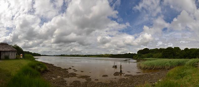 The Irish National Heritage Park landscape