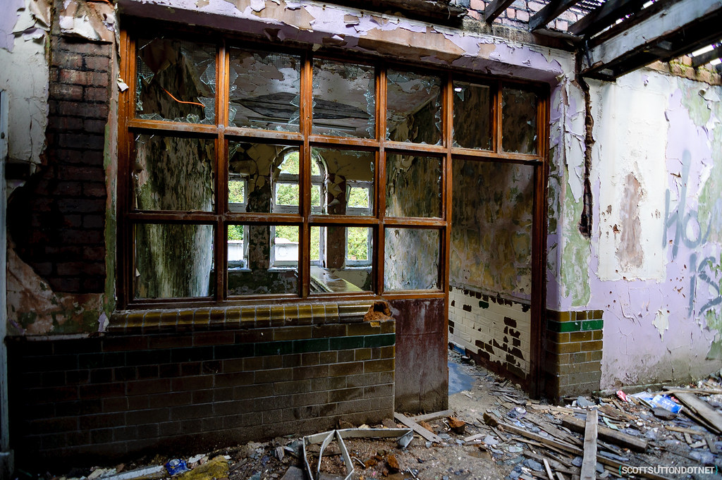 Old reception maybe? Mountain Ash Hospital