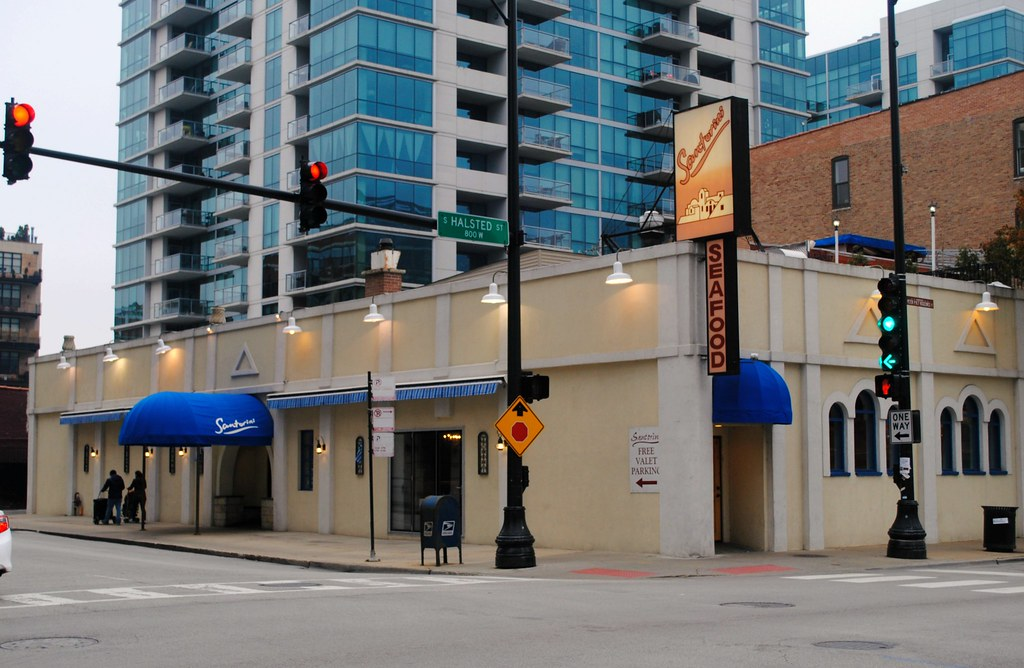 Santorini Restaurant Greektown Chicago Cragin Spring Flickr