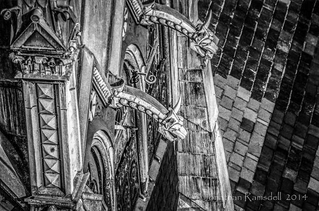 Down Spouts, Old South Church in Boston, 1983-