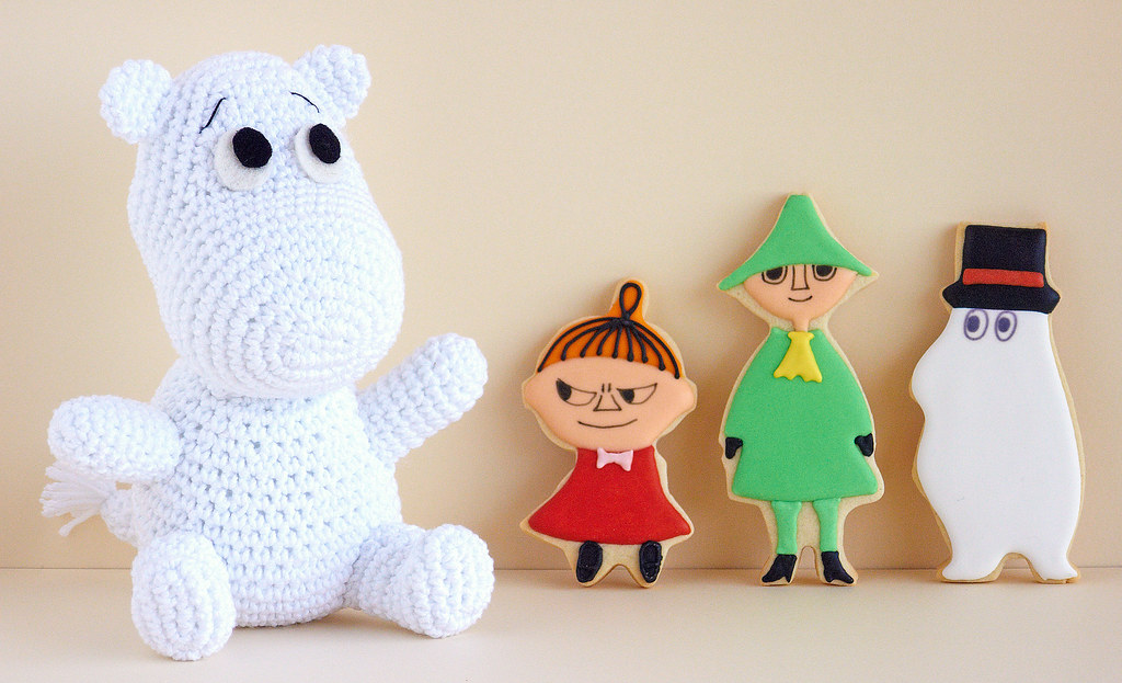 Ravelry: Project Gallery for Amigurumi Moomin pattern by Samantha ... | 623x1024