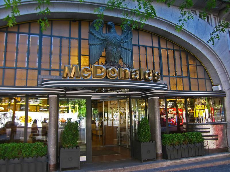 Imperial McDonalds - Porto, Portugal