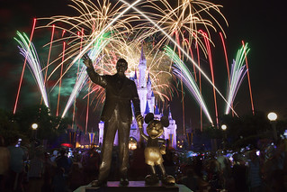"Walt Disney World's Magic Kingdom ""Wishes"" fireworks show 