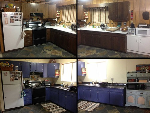 The Official Before and After Kitchen Photos   by cogdogblog