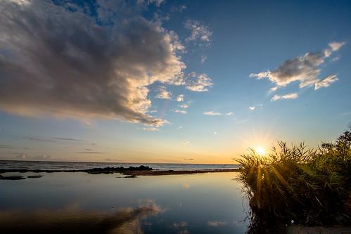 sunset sky himmel solnedgång