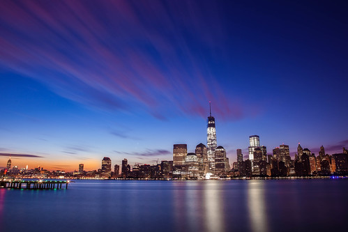 New York City Skyline Sunrise | by Anthony Quintano