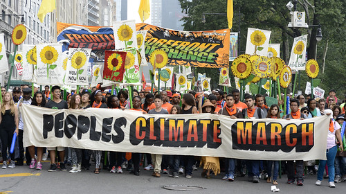 2014 People's Climate March NYC 6 | by Stephen D. Melkisethian