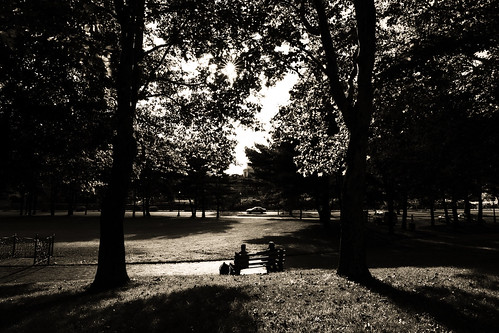 park travel trees people sunlight leaves weather canon photography lights warm photographer shadows silhouettes newengland september rhodeisland shade sidewalks pvd historicalplaces darks usnationalregisterofhistoricplaces goprovidence rogerwilliamsnationalmemorial iloveprovidence providencecitytraveltourismsunset