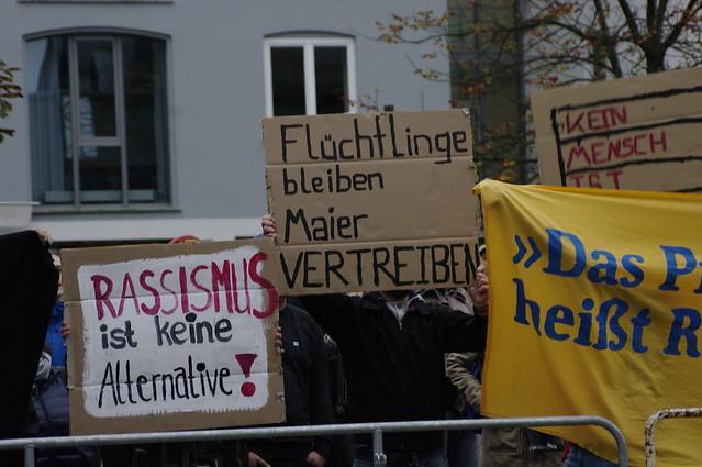 AfD OB-Wahlkampf Stadthalle Memmingen