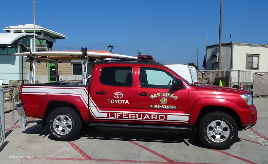 San Diego CA Fire Rescue Lifeguard - Toyota Tacoma (5)   Flickr