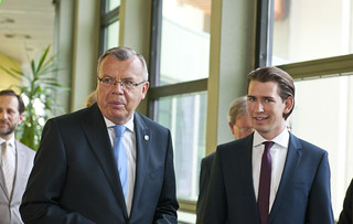 Official Visit of H.E. Mr. Sebastian Kurz, Federal Minister for Europe, Integration and Foreign Affairs of Austria