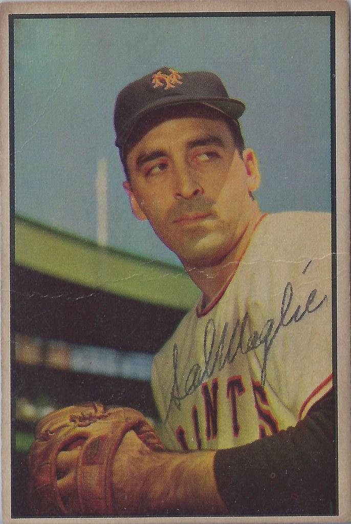 1953 Bowman Color Sal Maglie 96 Pitcher B 26 Apr 19 Flickr