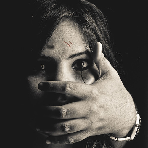 Who will speak for her if you don't? Stand up against abuse. | by A R I T R A