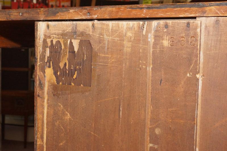 CH0072 Antique Oak Secretary DSC01375