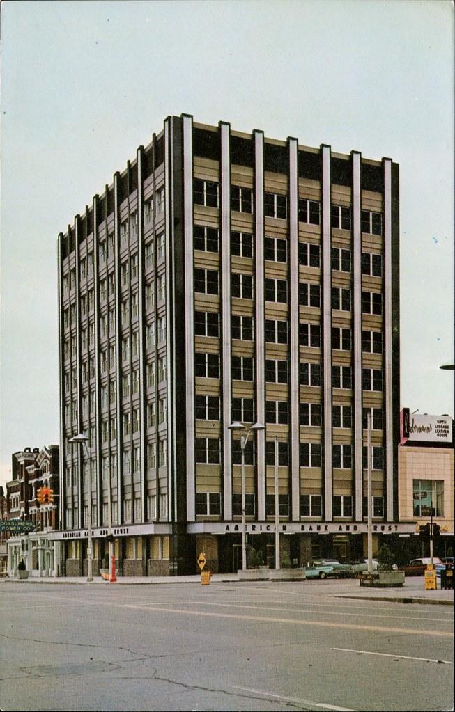 American Bank Trust Company Lansing Michigan Swellmap Flickr