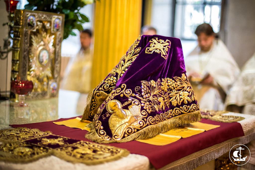 19 августа 2014, Литургия в Спасо-Преображенском соборе / 19 August 2014, Liturgy in the Transfiguration Cathedral