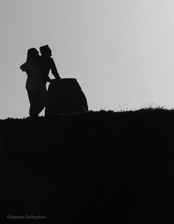 Young Love at Northumberlandia   by Graeme Darbyshire