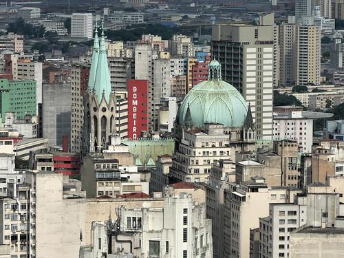 saopaulo brazil sécatedral viewfromedificioitalia catedraldasédesaopaulo sãopaulo