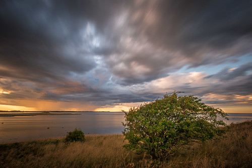 Samsø, Denmark: Before thunderstorm... | by n_har