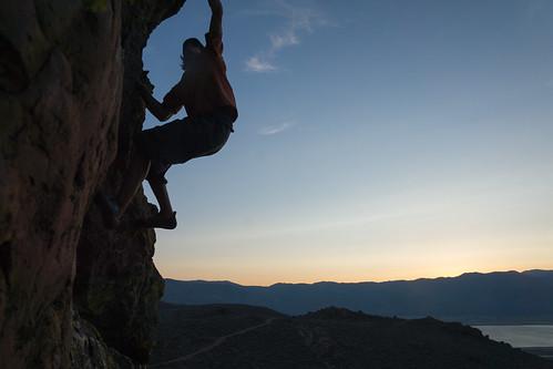 blue sunset rock unitedstates desert nevada climbing bouldering bluehour volcanicrock carsoncity