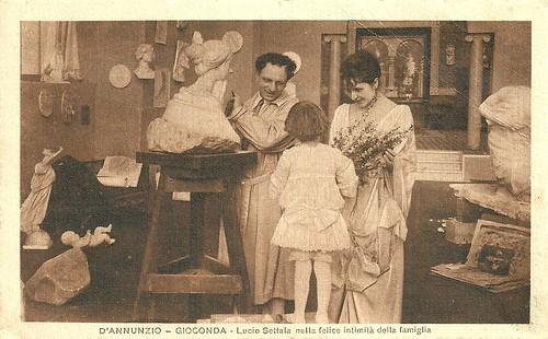 Umberto Mozzato and Mercedes Brignone in La Gioconda (1917)