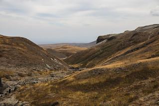 Landscape around Mount Paektu