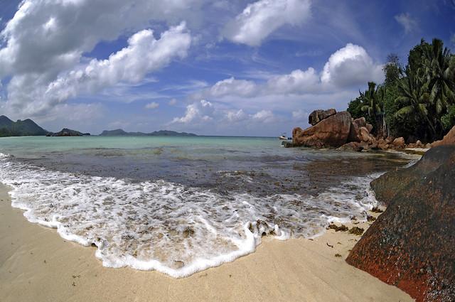 Anse Lazio, Seychells