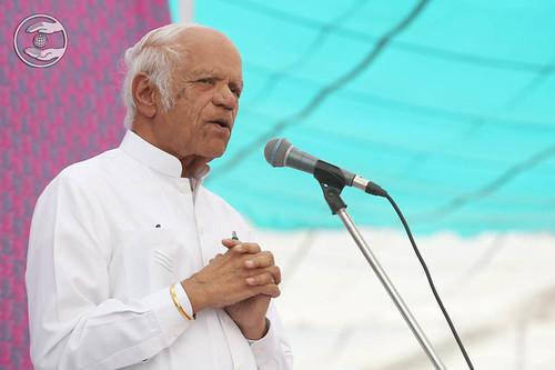 President SNM, USA, Dr. IS Rai, expresses his views