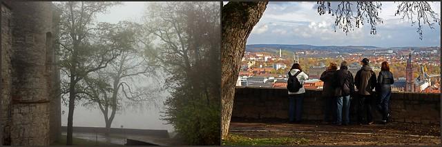 Aussicht v. Marienberg auf Würzburg