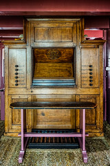 Amsterdam - Ons' Lieve Heer op Solder 15 - Orgelklavier