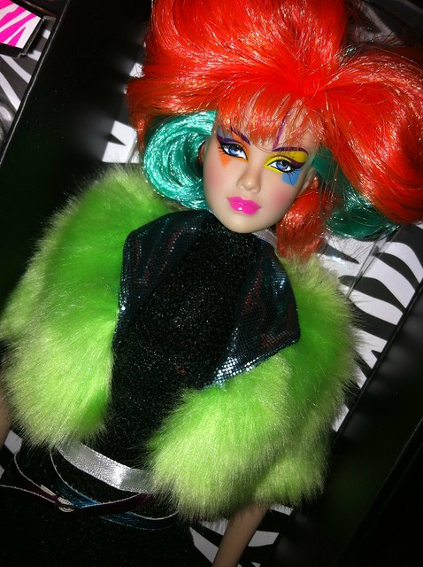 Clash Montgomery  - Jem and The Holograms integrity toys dolls FR  box