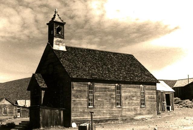 Ghost Town Church, Bodie , California