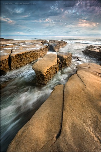 california seascape beach clouds rocks surf waves sandiego lajolla surge hospitalbeach drapervillas