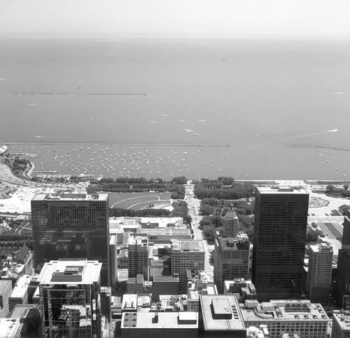 """Image titled """"#3, From the Sears Tower, Chicago."""""""