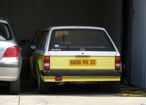 Opel Kadett GTE   by Spottedlaurel