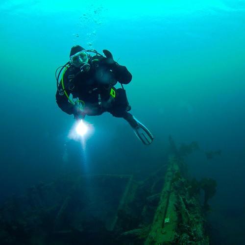 Op de blog! Die keer dat ik op de Belgica ging duiken... Link in profiel. | by Laloe.be