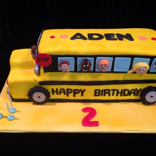 Admirable Birthday Cake For Kids School Buskidssmile Sweet Ca M Flickr Personalised Birthday Cards Cominlily Jamesorg