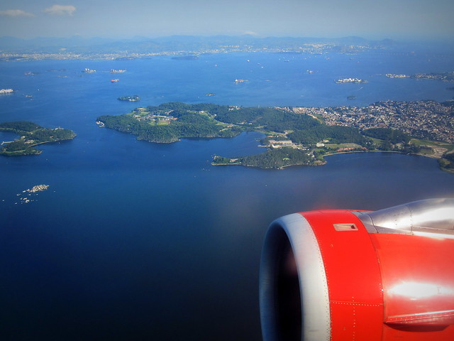 #TAM Airlines #A320 / #WindowView , #GIG to #GRU