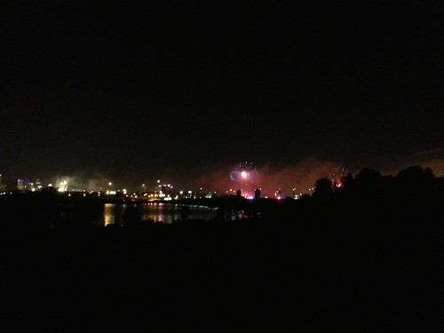 Fireworks over Baltimore, Star Spangled Banner 200 years